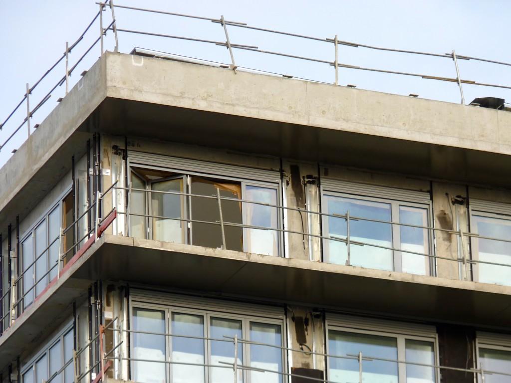 Volets roulants posés sur le bâtiment A